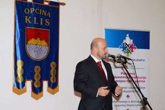 LokalnaHrvatska.hr  Svecano otvoren prostor Poduzetnickog inkubatora Klis