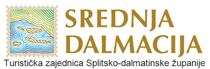 Turistička zajednica Splitsko-dalmatinske županije logo