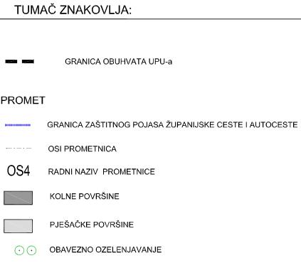 UPU-22 Vučevica - 2.1. Prometna mreža