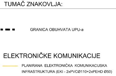 UPU-26 Vučevica - 2.3. Elektronička komunikacijska mreža