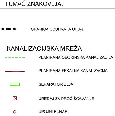 UPU-26 Vučevica - 2.5. Kanalizacijska mreža