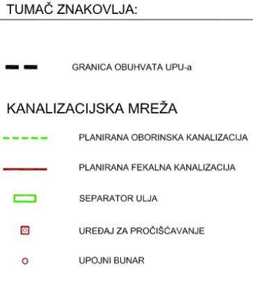 UPU-22 Vučevica - 2.5. Kanalizacijska mreža