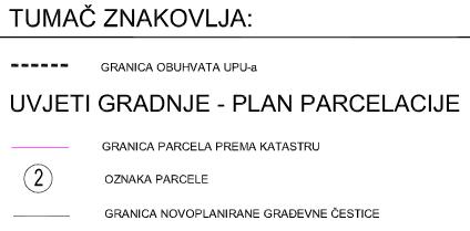 4.1. Način i uvjeti gradnje - Plan parcelacije