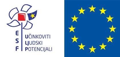 Europski socijalni fond logo sa natpisom Učinkoviti Ljudski Potencijali