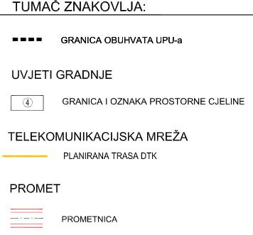 UPU-29 Kurtovići - sjever - 2.3. Telekomunikacijska mreža