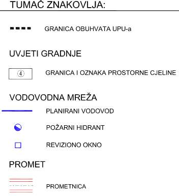 UPU-29 Kurtovići - sjever - 2.4. Vodovodna mreža