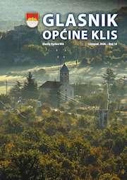 Glasnik Općine Klis Broj 14 slika naslovnice