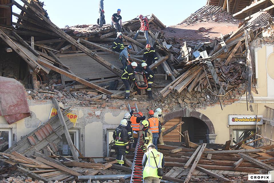 Posljedice potresa u Petrinji