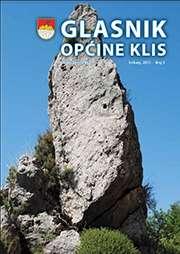 Glasnik Općine Klis Broj 5 slika naslovnice
