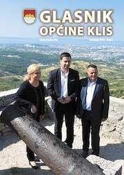 Glasnik Općine Klis Broj 3 slika naslovnice